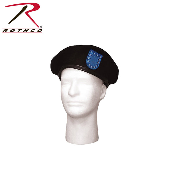Rothco G.I. Type Beret w/ Blue Flash