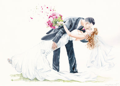 Custom Wedding Watercolor