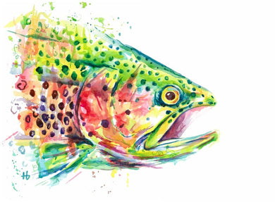 Skittles the Trout | Print