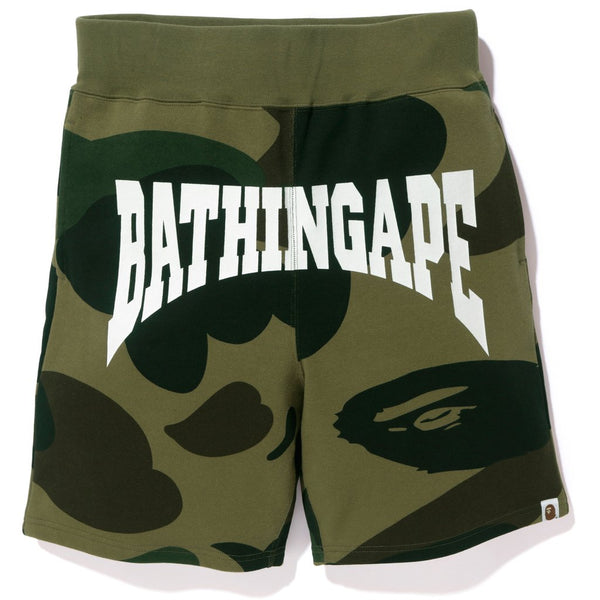BAPE GIANT 1ST CAMO SHARK SWEAT SHORTS
