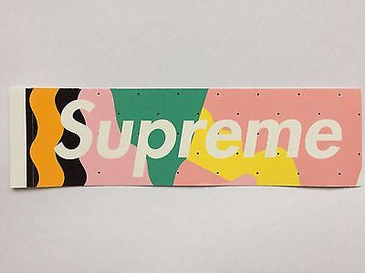 SUPREME BOX LOGO STICKER MENDINI