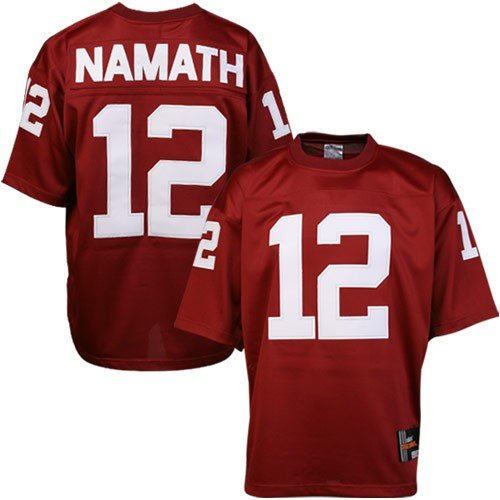 the latest e67e2 72732 JOE NAMATH ALABAMA JERSEY