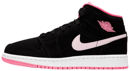 air jordan 1 mid gs digital pink