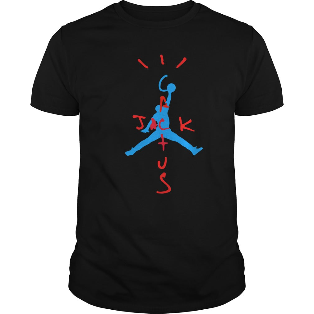 74c522c2c82 AIR JORDAN x TRAVIS SCOTT CACTUS JACK T-SHIRT