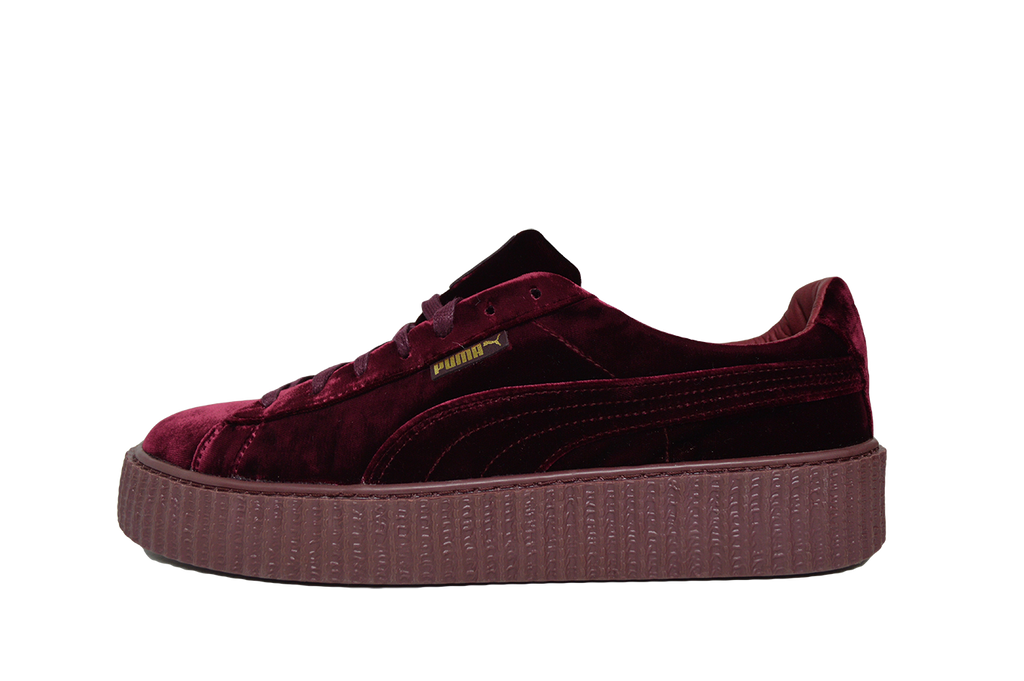 watch dd130 63c04 PUMA X FENTY BY RIHANNA CREEPER VELVET