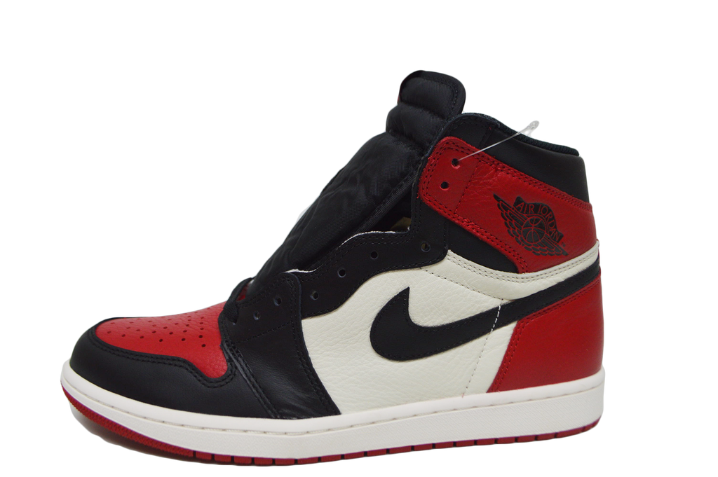 7c610150df686f jordan 1 bred toe gym red black summit white