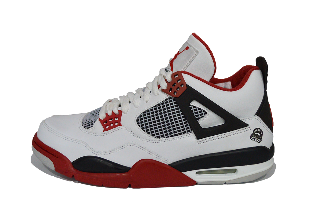 new arrival 8565b 7deb3 ebay nike air jordan 4 iv mars blackmon 2006 fire red white size us 9.5  retro c1b93 45036  france home air jordan 4 mars blackmon bcd88 0e9c1