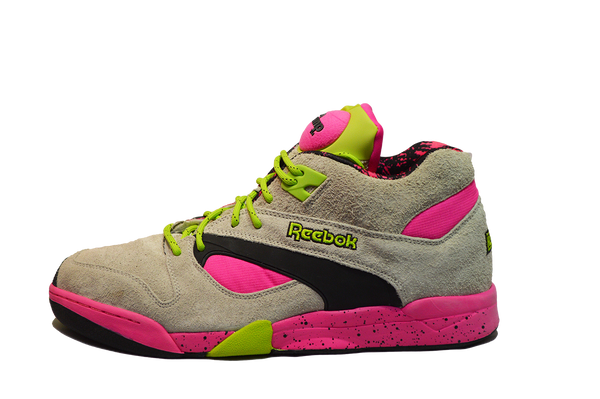 "REEBOK ""OUTDOOR"" COURT VICTORY PUMP PINK"