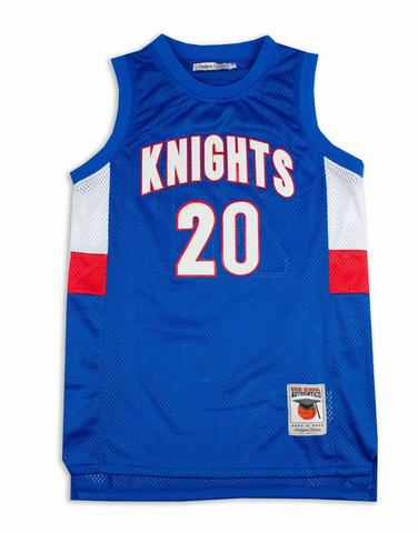 STEPHEN CURRY CHRISTIAN KNIGHTS JERSEY