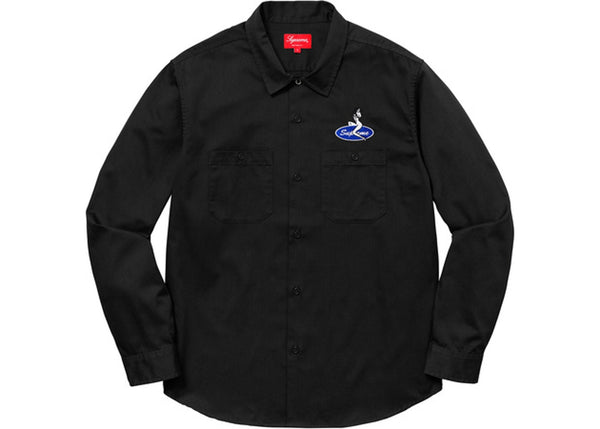 SUPREME PIN UP WORK SHIRT