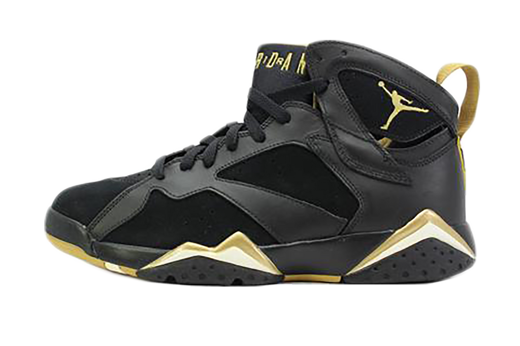 air jordan 7 noir et or