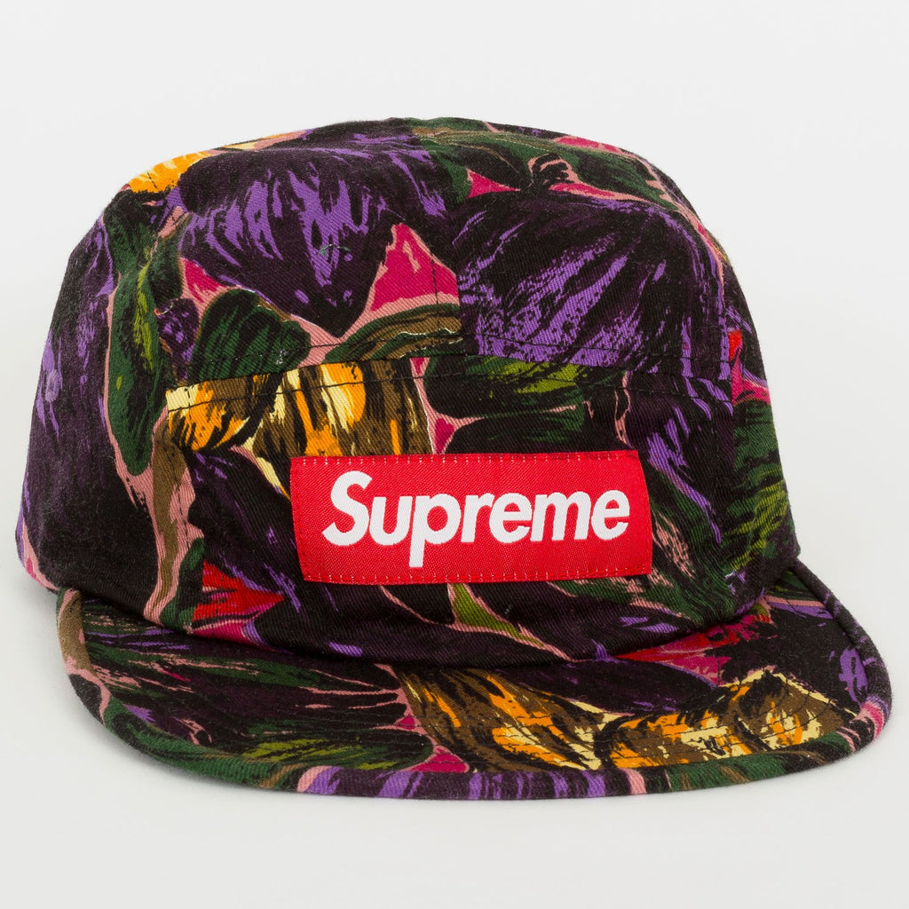SUPREME PAINTED FLORAL CAMP CAP  050a6f5401a