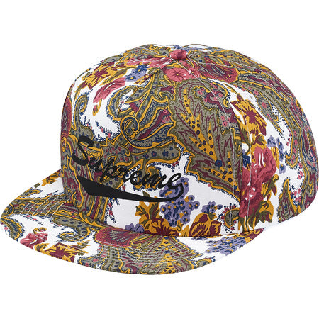 SUPREME PAISLEY 5 PANEL HAT