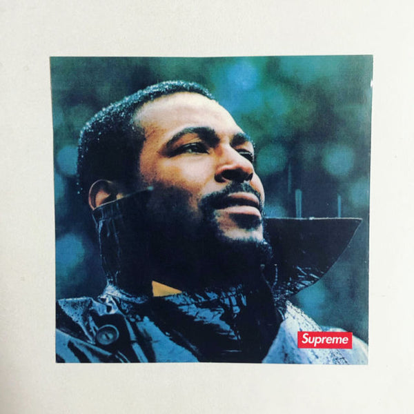 SUPREME MARVIN GAYE STICKERS