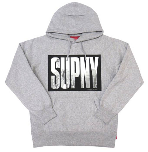 SUPREME SUPNY HOODED SWEARSHIRT