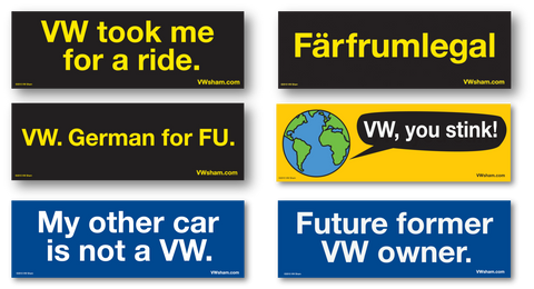 Car Magnets from VW Sham