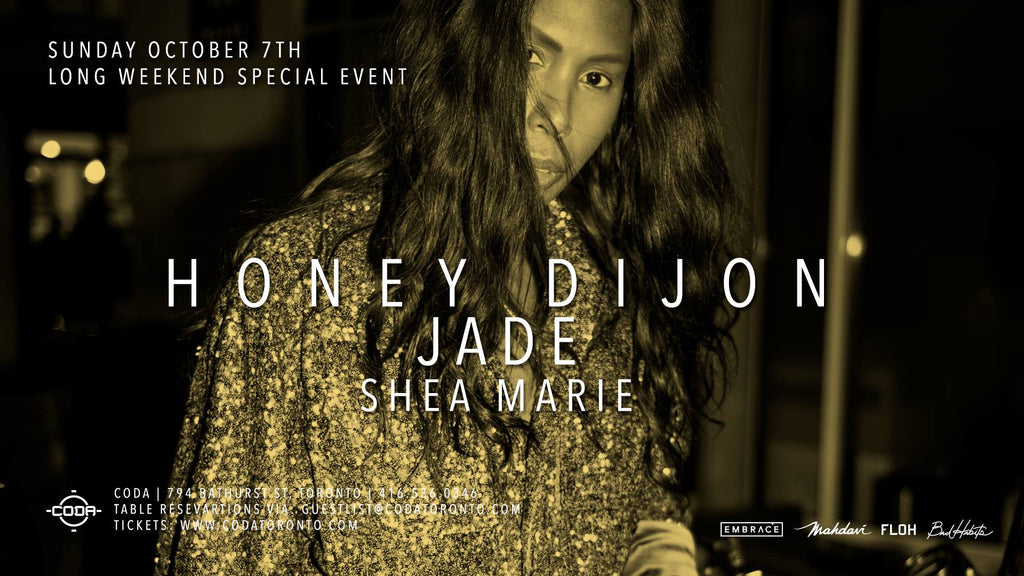PREVIEW || LONG WEEKEND LOVE FOR HONEY DIJON, JADE & SHEA MARIE