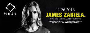 [PREVIEW] JAMES ZABIELA TOUCHES DOWN AT NEST