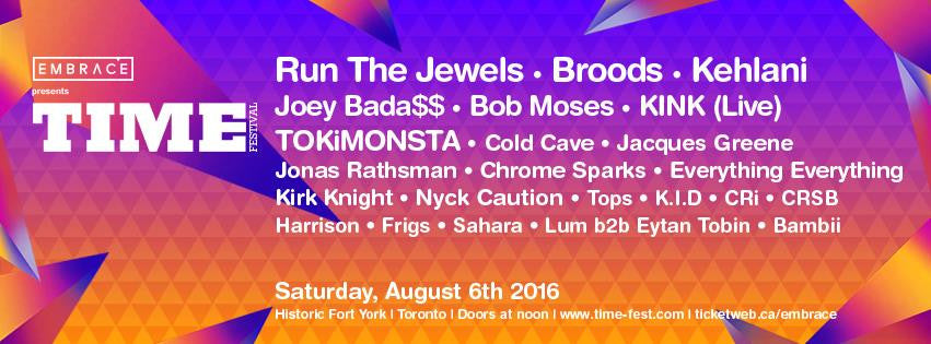 TIME FESTIVAL: A MULTI-GENRE, FINELY-CURATED SHOWCASE