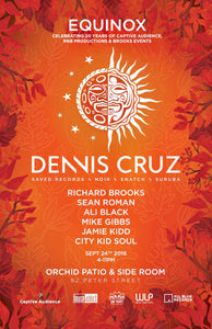 DENNIS CRUZ HEADLINES EQUINOX PARTY: CELEBRATING 20 YEARS OF CAPTIVE AUDIENCE