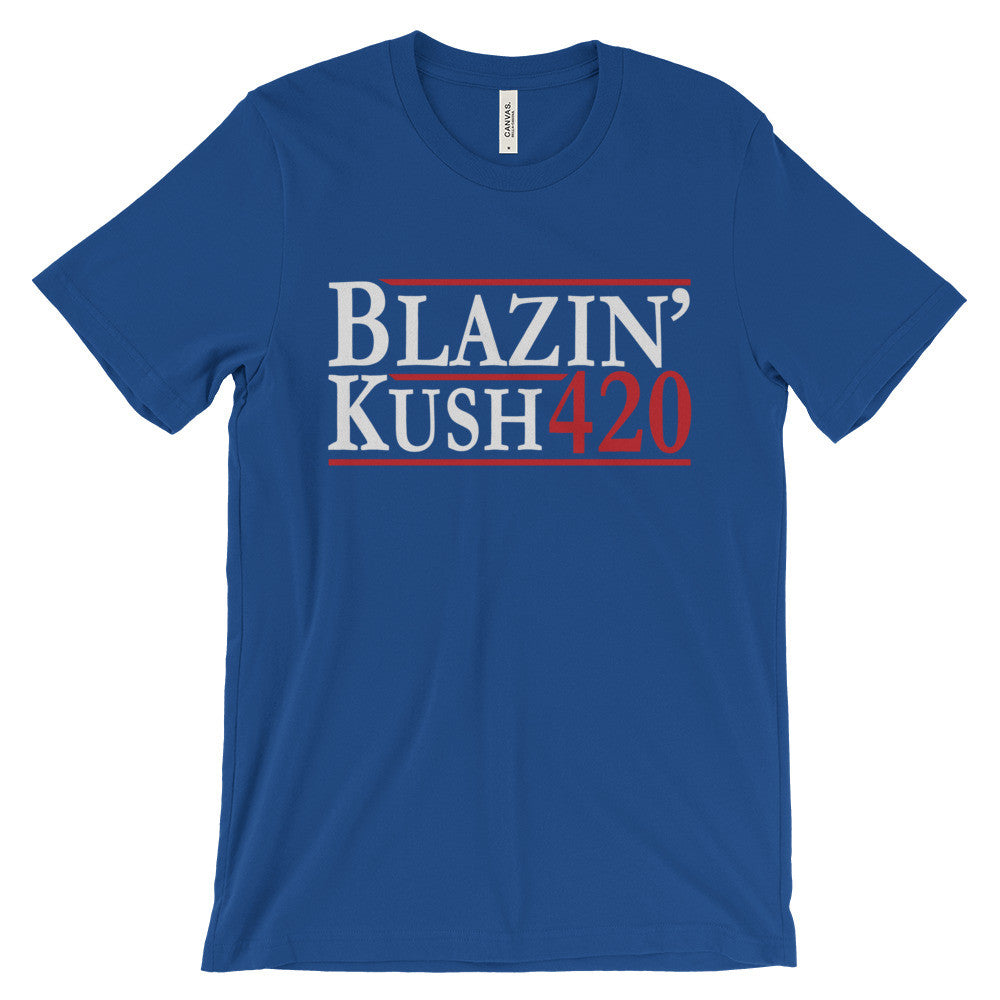Blazin' Kush 420 | Cannabis Tees Shirts | Kief Hunter