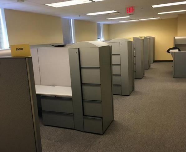 Cubicles made by Haworth