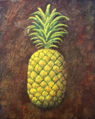 'Be Like a Pineapple' Original Acrylic Painting