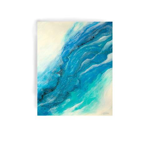 'Clean Water' Original Resin Art