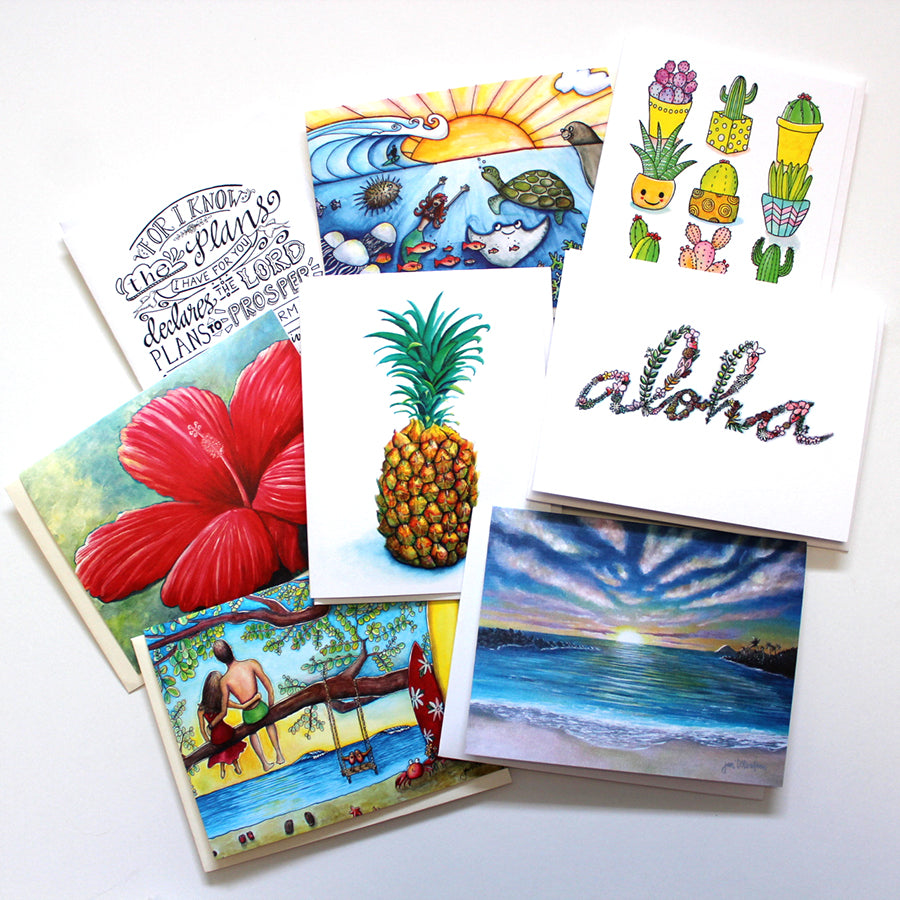 Card Party - Five Assorted Greeting Cards