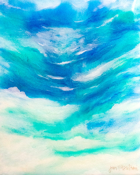 'Intima Sea' Original Mixed Media