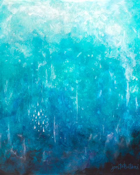 into the depths resin art by jan tetsutani