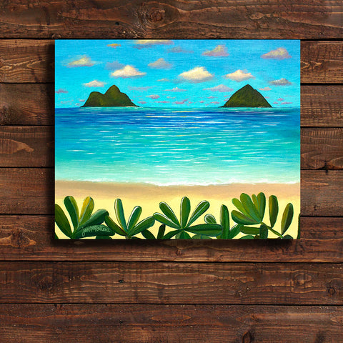 'Mokulua Islands' Original Acrylic Painting