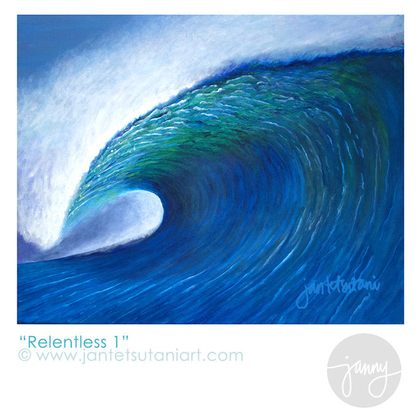 'Relentless 1' Art Print