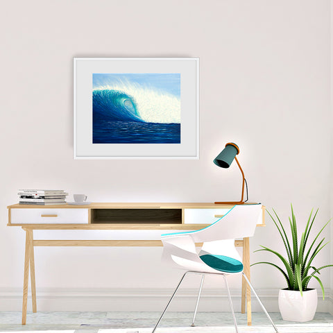 'Wave of Love' Art Print