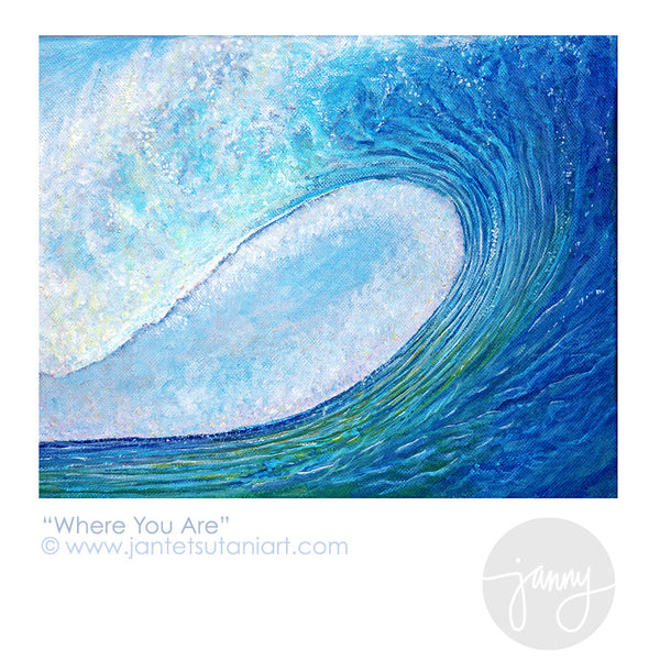 'Where You Are 1' Art Print