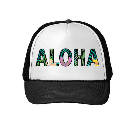 'Aloha Jungle' Trucker Hat