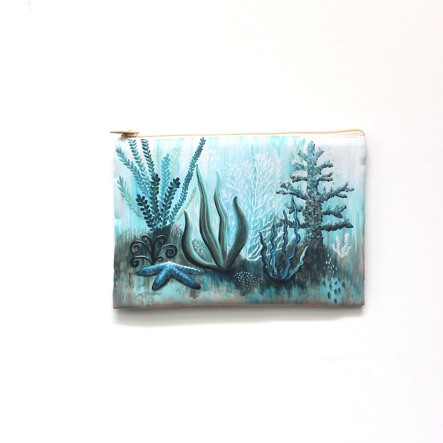 'Another World' Beach Clutch