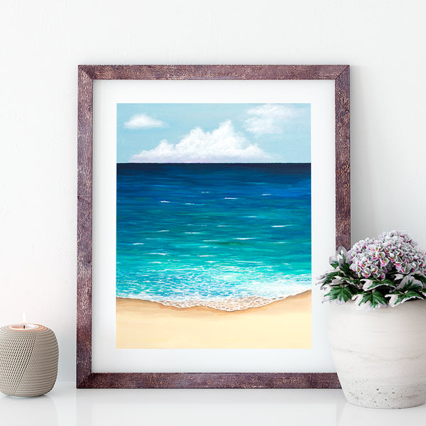 beyond the horizon beach print by jan tetsutani