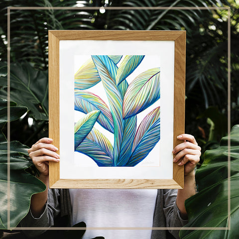 'Greenery Vibes' Art Print