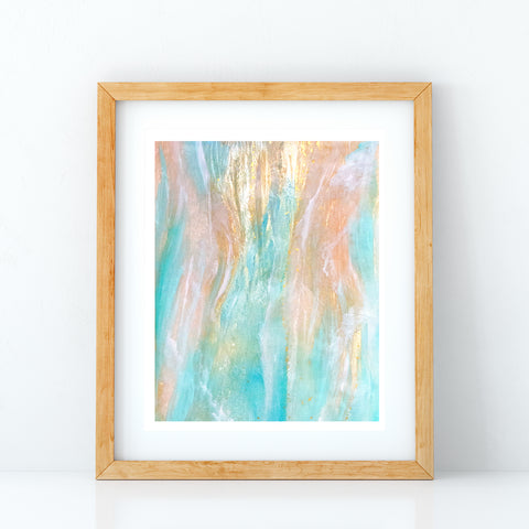 Sea of Love resin print by Jan Tetsutani Hawaii Artist