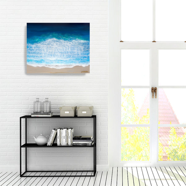 'Wash Over Me' Giclee Gallery Wrapped Canvas Prints