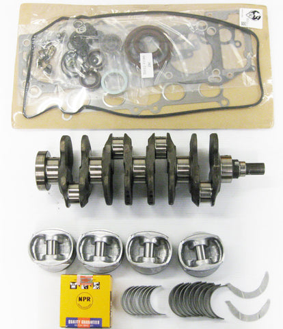 Honda 1.6 D16Y8 Engine Rebuilt Kit with 1 Connecting rod 1996-2000