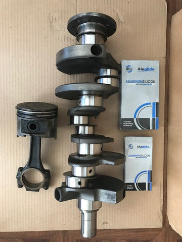 Dodge 3.9 Crankshaft with bearings with 1 Connecting rod