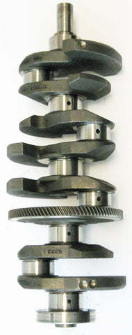 Mazda 2.3 Duratec Crankshaft with bearings (Non Turbo) with 4 Connecting Rod with NPR Pistons and Rings Set