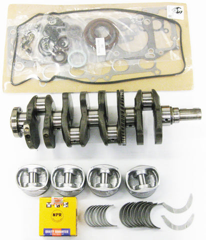 Toyota 2.4 22RE Rebuilt Engine kit with 2 Connecting Rods