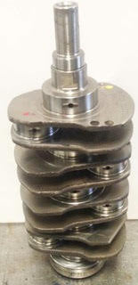 Subaru 2.5 Crankshaft with Main& Rod Bearings early Model