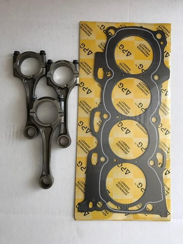 Toyota 2.4 2AZFE 3 connecting rods & 1 Graphite Head Gasket