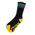 Stripe Sock- Black