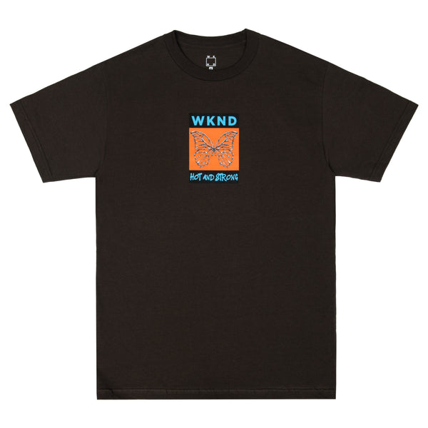 Hot & Strong Tee - Brown