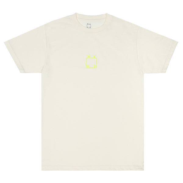 Embroidered Logo Tee - Cream